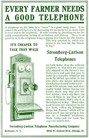 Stromberg-Carlson - 1905 Stromberg-Carlson ad