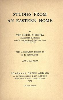 Title page of 1913 edition of Studies from an Eastern Home