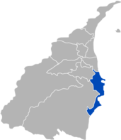 Location of Suao in Yilan