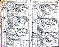 Subačiaus RKB 1827-1830 krikšto metrikų knyga 054.jpg