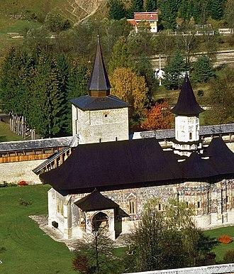 Sucevița Monastery - Image: Sucevita