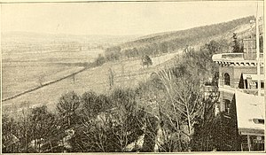 Livingston County, New York - View from Sanitorium, 1890s