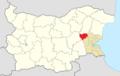 Sungurlare Municipality Within Bulgaria.png