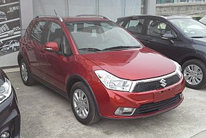 Changan Suzuki - Image: Suzuki SX4 hatch facelift IV China 2016 04 01