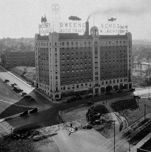 Sweeney School - Sweeney School building in 1922