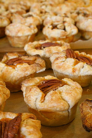 Potato and pecan tarts or muffins.