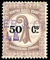 Switzerland Basel 1899 bordereau revenue 50c - 9A.jpg