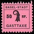 Switzerland Basel 1942 Tourism revenue 50Rp - 3.jpg