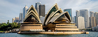 Architecture of Sydney - The Sydney Opera House by Danish architect Jørn Utzon