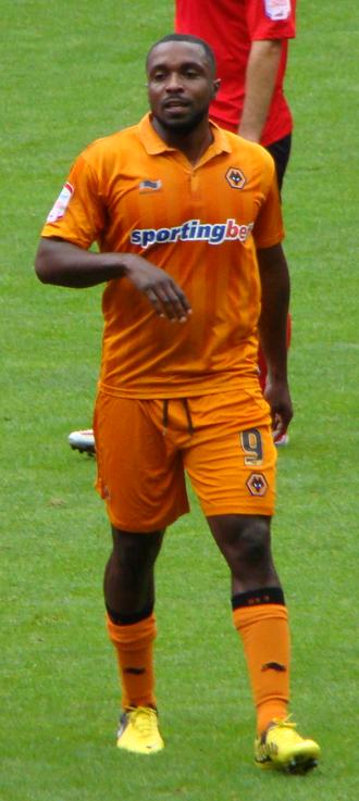 Sylvan Ebanks-Blake - Ebanks-Blake playing for Wolverhampton Wanderers in 2012