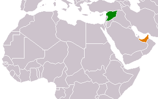 Diplomatic relations between Syria and the United Arab Emirates