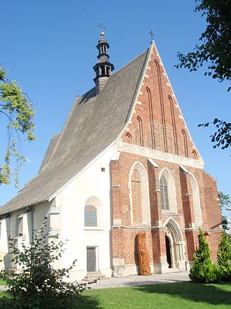 Szydłów - Image: Szydlow church