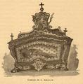 Túmulo de D. Mafalda, no Convento de Arouca - História de Portugal, popular e ilustrada.png