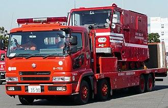 Mitsubishi Fuso Super Great - Super Great FS Flatbed Towtruck