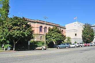 Tacoma Public Library - Main library, Tacoma, 2015