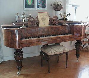 Square piano - Image: Tafelklavier