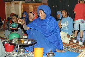 Western Saharan cuisine -  Saharawi Tea