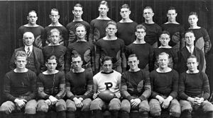 1922 Princeton Tigers football team - Image: Teamofdestiny