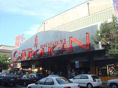 How to get to Teatro Caupolicán with public transit - About the place