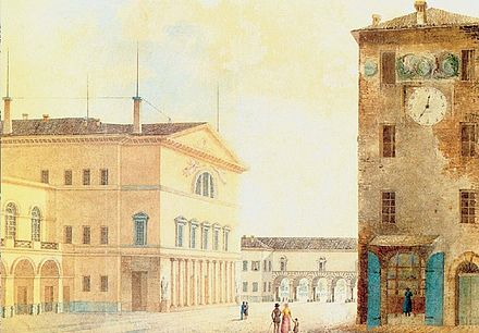 The Nuovo Teatro Ducale in 1829 Teatro regio.jpg