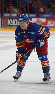 Teemu Pulkkinen Finnish ice hockey player