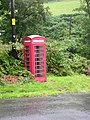 Telephone box, Aber-Cywarch - geograph.org.uk - 506680.jpg