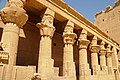 Temple of Philae, now an island in the Nile between Upper and Lower Aswan dams - panoramio (3).jpg