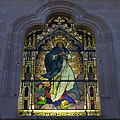 Templo Expiatorio Diacesano Ave María (Aguascalientes, Ags.) - stained glass windows, Immaculate Conception.jpg