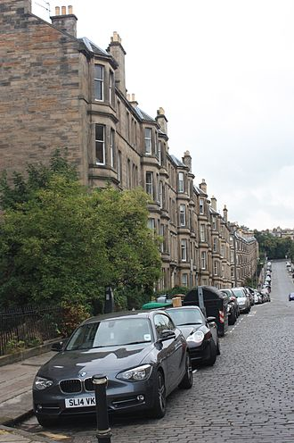 Comely Bank - Tenements, Comely Bank