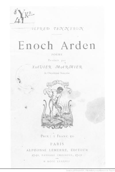 File:Tennyson - Enoch Arden, trad. Marnier, 1887.djvu