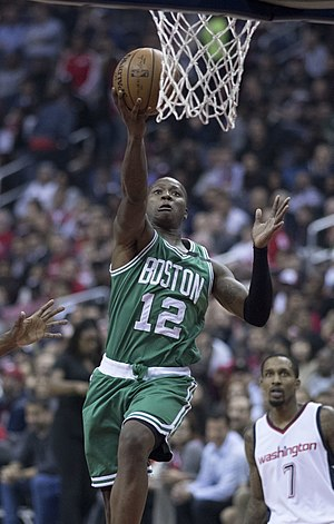Terry Rozier - Rozier with Celtics in 2017
