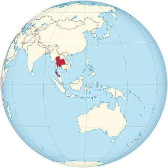 Thailand on the globe (Southeast Asia centered).svg