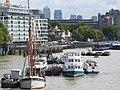 Thames barge parade - Will berthed 6799.JPG