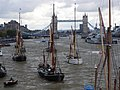 Thames barge parade - in the Pool 6736.JPG