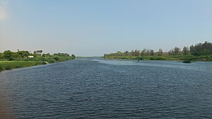 Tirunelveli district - Thamirabarani River from Authoor Bridge