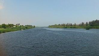 Tirunelveli district - Thamirabarani River from Authoor Bridge