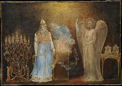 William Blake: The Angel Appearing to Zacharias