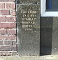 The Burton foundation stone, Park Street , Brighouse - geograph.org.uk - 997625.jpg