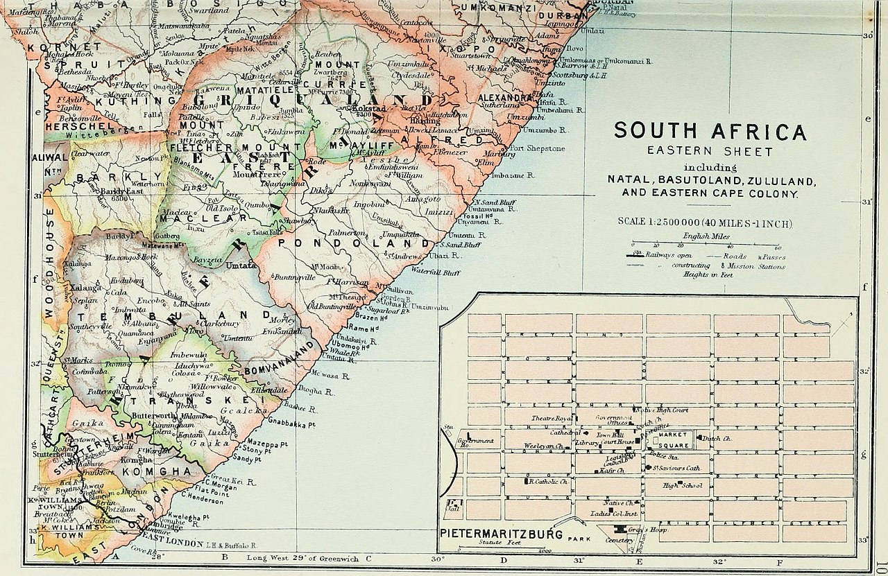 Datei:The Castle Line atlas of South Africa - a series of 16 ...
