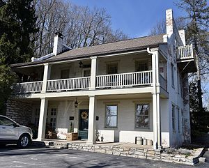 National Register of Historic Places listings in Pike County, Missouri - Image: The Charles Bacon House