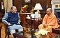 The Chief Minister of Uttar Pradesh, Shri Yogi Adityanath calling on the Union Minister for Finance and Corporate Affairs, Shri Arun Jaitley, in New Delhi on February 02, 2018 (1).jpg