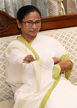The Chief Minister of West Bengal, Ms. Mamata Banerjee.jpg