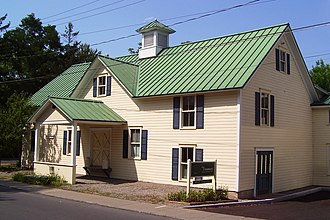 Skaneateles (village), New York - The Creamery, the headquarters and museum of the Skaneateles Historical Society
