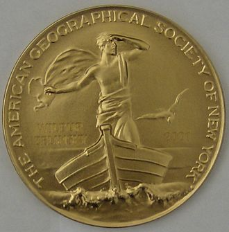 Cullum Geographical Medal - Front