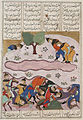 The Discomfiture and Death of Piroz, from a Manuscript of the Shahnama (Book of Kings) of Firdawsi LACMA M.73.5.23.jpg