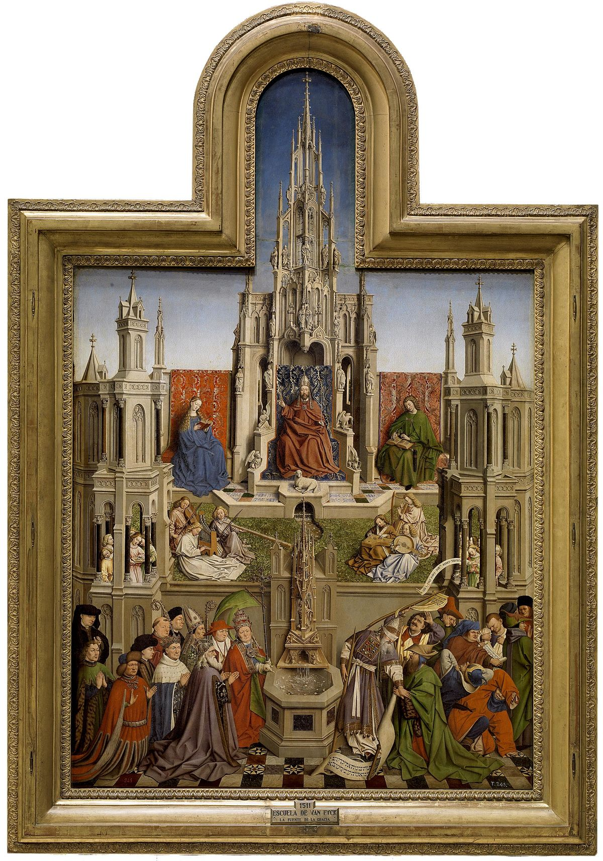 the life of jan van eyck Jan van eyck's annunciation (1434/1436)  van eyck worked for the duke for the rest of his life, not only serving as court artist but also in diplomatic roles.