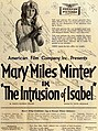The Intrusion of Isabel (1919) - Ad 1.jpg