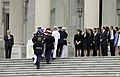 The Late Honorable Frank R. Lautenberg arrives at the U.S. Capitol (8978316418).jpg