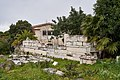 The Late Roman Wall of Athens in Ancient Agora on March 23, 2021.jpg