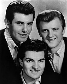 The three group members in 1964